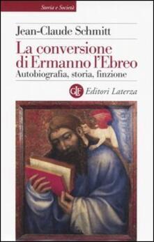Osteriacasadimare.it La conversione di Ermanno l'Ebreo. Autobiografia, storia, finzione Image
