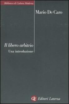Charun.it Libero arbitrio. Una introduzione Image