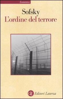 Ascotcamogli.it L' ordine del terrore. Il campo di concentramento Image