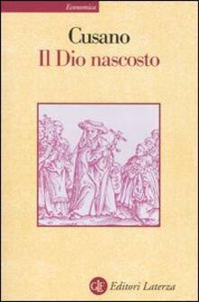 Letterarioprimopiano.it Il dio nascosto Image