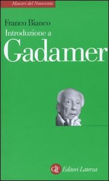 Mercatinidinataletorino.it Introduzione a Gadamer Image