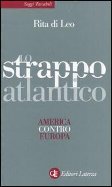 Camfeed.it Lo strappo atlantico. America contro Europa Image