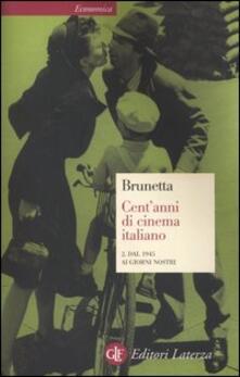 Winniearcher.com Cent'anni di cinema italiano. Vol. 2: Dal 1945 ai giorni nostri. Image