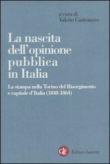 Warholgenova.it La nascita dell'opinione pubblica in Italia. La stampa nella Torino del Risorgimento e capitale d'Italia (1848-1864) Image