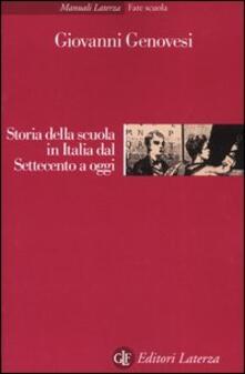 Daddyswing.es Storia della scuola in Italia dal Settecento a oggi Image