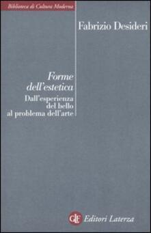 Forme dellestetica. Dallesperienza del bello al problema dellarte.pdf