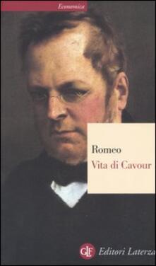 Vita di Cavour - Rosario Romeo - copertina