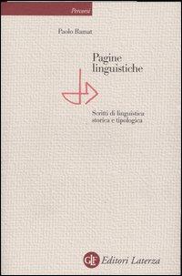 Pagine linguistiche. Scritt...