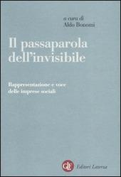 Il passaparola dell'invisibile. Rappresentazione e voce delle imprese sociali