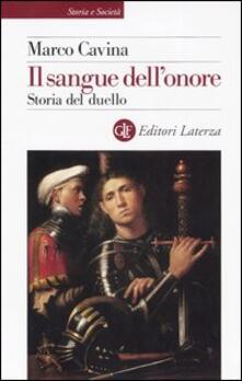 Museomemoriaeaccoglienza.it Il sangue dell'onore. Storia del duello Image