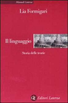 Lpgcsostenible.es Il linguaggio. Storia delle teorie Image