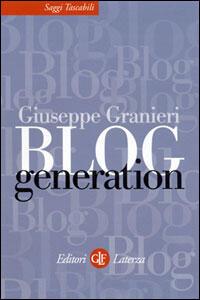 Blog generation - Giuseppe Granieri - copertina