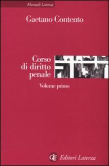 Associazionelabirinto.it Corso di diritto penale. Vol. 1 Image