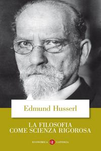 Libro La filosofia come scienza rigorosa Edmund Husserl