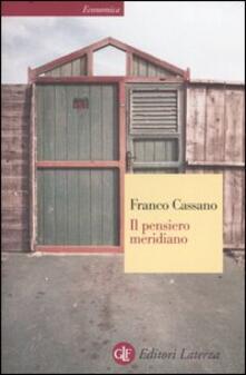 Il pensiero meridiano - Franco Cassano - copertina