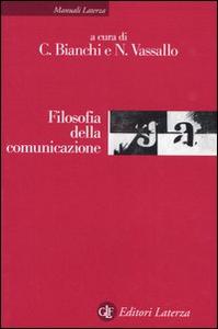 Libro Filosofia della comunicazione