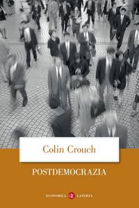 Libro Postdemocrazia Colin Crouch