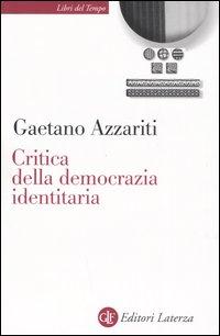 Critica della democrazia id...
