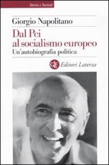 Vitalitart.it Dal Pci al socialismo europeo. Un'autobiografia politica Image