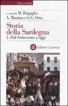 Camfeed.it Storia della Sardegna. Vol. 2: Dal Settecento a oggi. Image