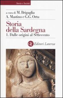 Cocktaillab.it Storia della Sardegna. Vol. 1: Dalle origini al Settecento. Image