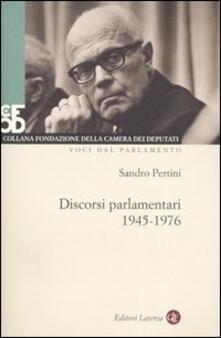 Ilmeglio-delweb.it Discorsi parlamentari (1945-1976). Con DVD Image