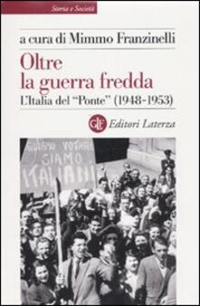 Voluntariadobaleares2014.es Oltre la guerra fredda. L'Italia del «Ponte» (1948-1953) Image