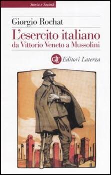Tegliowinterrun.it L' esercito italiano da Vittorio Veneto a Mussolini Image