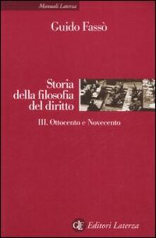 Antondemarirreguera.es Storia della filofia del diritto. Vol. 3: Ottocento e Novecento. Image