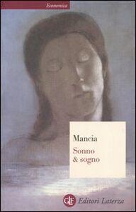 Foto Cover di Sonno & sogno, Libro di Mauro Mancia, edito da Laterza