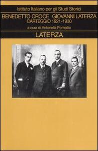 Carteggio. Vol. 3: 1921-1930.