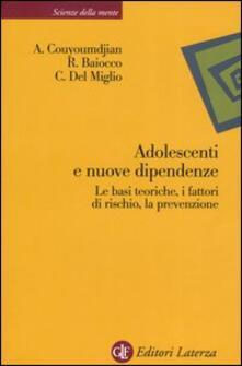Steamcon.it Adolescenti e nuove dipendenze. Le basi teoriche, i fattori di rischio, la prevenzione Image