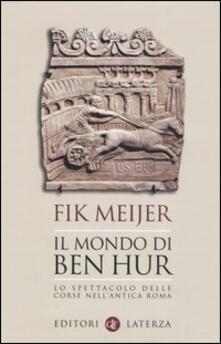 Premioquesti.it Il mondo di Ben Hur. Lo spettacolo delle corse nell'antica Roma Image