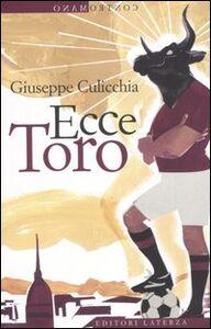 Libro Ecce Toro Giuseppe Culicchia