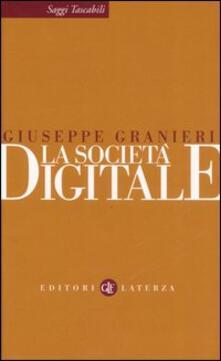 La società digitale - Giuseppe Granieri - copertina