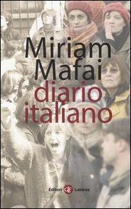Libro Diario italiano 1976-2006 Miriam Mafai