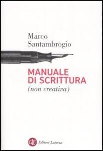 Manuale di scrittura (non creativa)