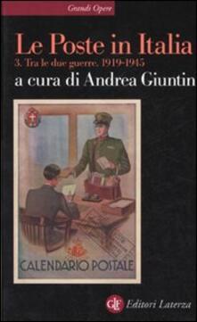 Winniearcher.com Le Poste in Italia. Vol. 3: Tra le due guerre 1919-1945. Image