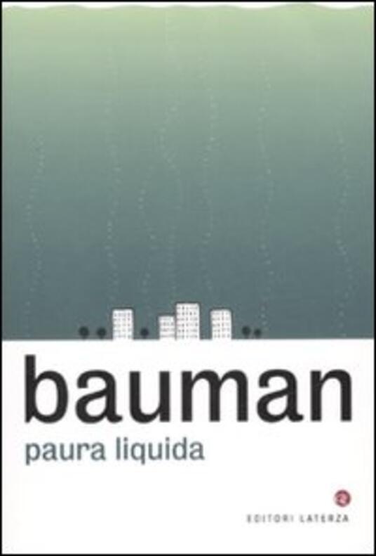 Paura liquida - Zygmunt Bauman - copertina