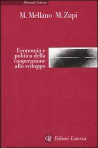 Economia e politica della cooperazione allo sviluppo