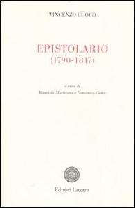 Libro Epistolario (1790-1817) Vincenzo Cuoco