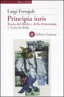 Aboutschuster.de Principia juris. Teoria del diritto e della democrazia. Con CD-ROM. Vol. 1: Teoria del diritto. Image