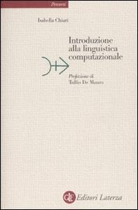 Introduzione alla linguistica computazionale