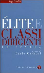 Libro Élite e classi dirigenti in Italia