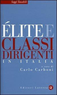Élite e classi dirigenti in Italia - - wuz.it