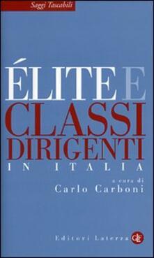 Ipabsantonioabatetrino.it Élite e classi dirigenti in Italia Image