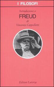 Foto Cover di Introduzione a Freud, Libro di Vincenzo Cappelletti, edito da Laterza