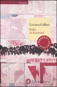 Italia in frantumi