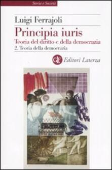Daddyswing.es Principia juris. Teoria del diritto e della democrazia. Vol. 2: Teoria della democrazia. Image