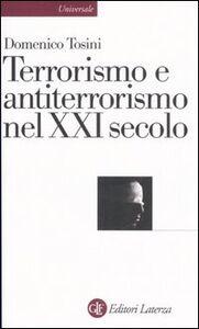 Libro Terrorismo e antiterrorismo nel XXI secolo Domenico Tosini